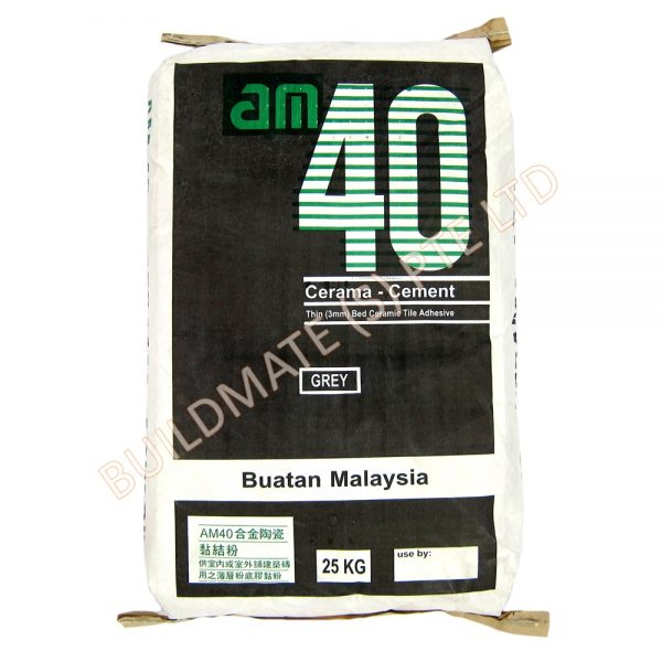 Thin Bed Ceramic Tile Adhesive - AM40 - Building Materials ...
