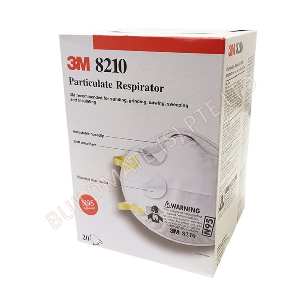 Particulate Respirator 8210 N95 Mask