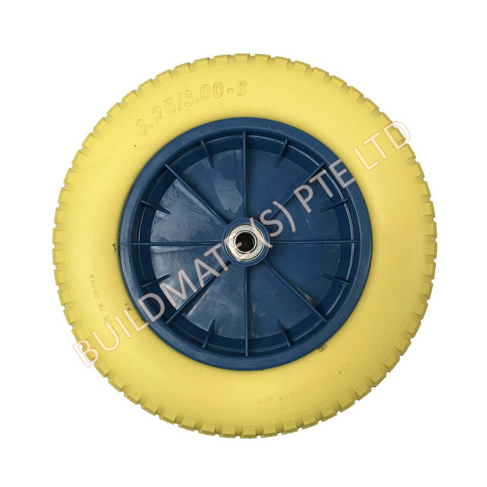 Wheelbarrow PU Foam Solid Wheel - Building Materials -Renovation
