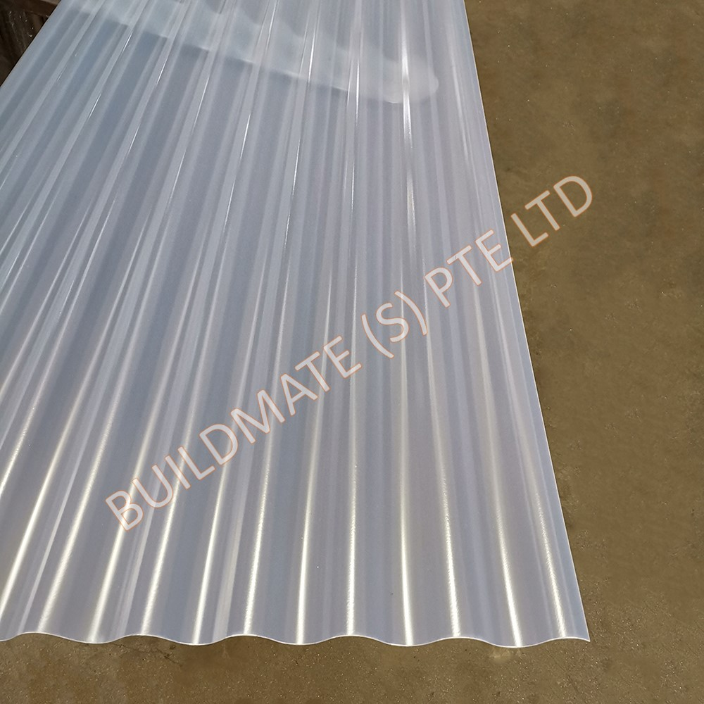 Pvc Corrugated Sheet Building Materials Construction Material Supplier Singapore